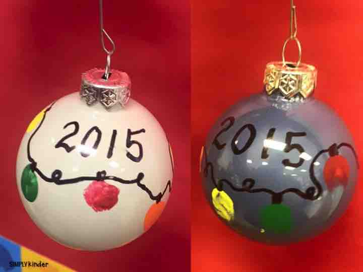 Great Christmas Gifts For Parents Part - 35: Fingerprint Bulbs As Parent Gifts From Students! These Will Be A Great  Keepsake For Your