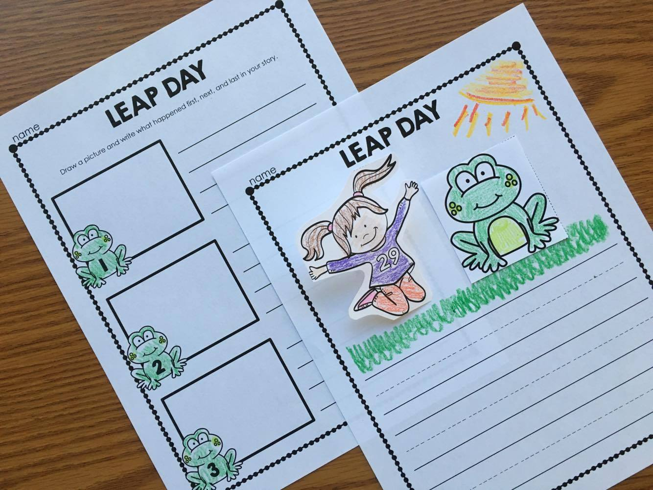Leap Year Writing Activity