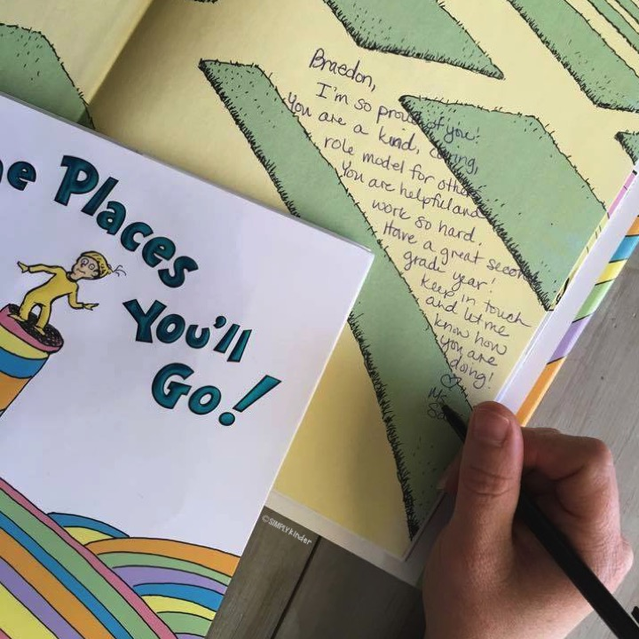 Oh The Places You'll Go! Keepsake Tradition Signing