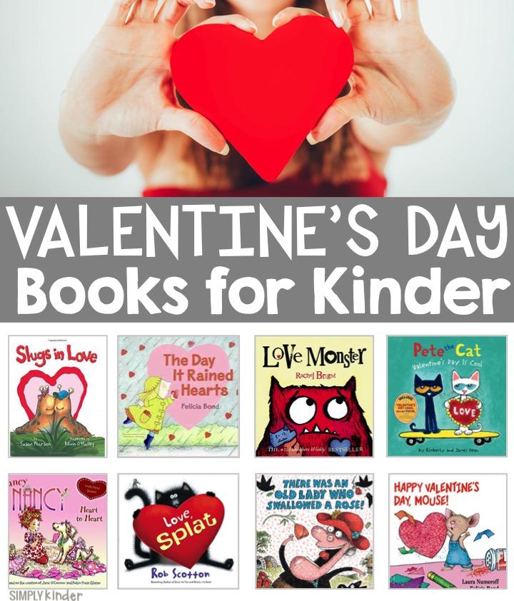 Valentine's Day Books for Kindergarten Kids