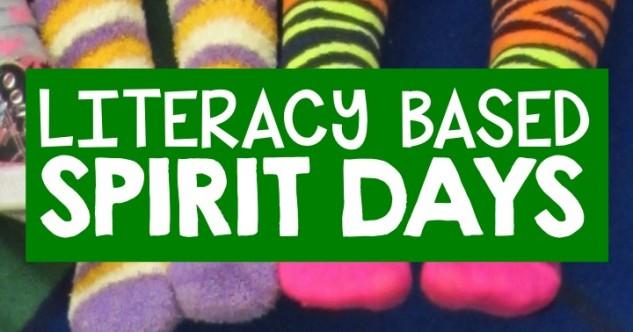 Literacy Spirit Day Ideas