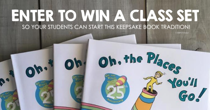 Oh The Places You'll Go giveaway