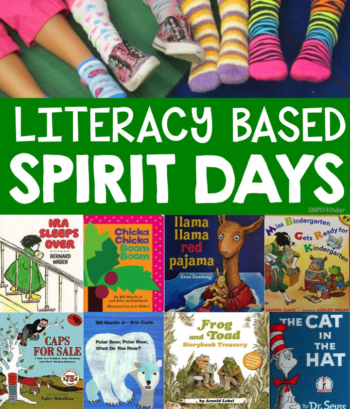 literacy based spirit day ideas