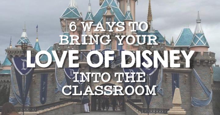 Classroom Disney Ideas