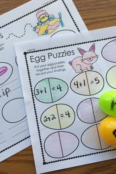 Plastic Egg Recording Sheets