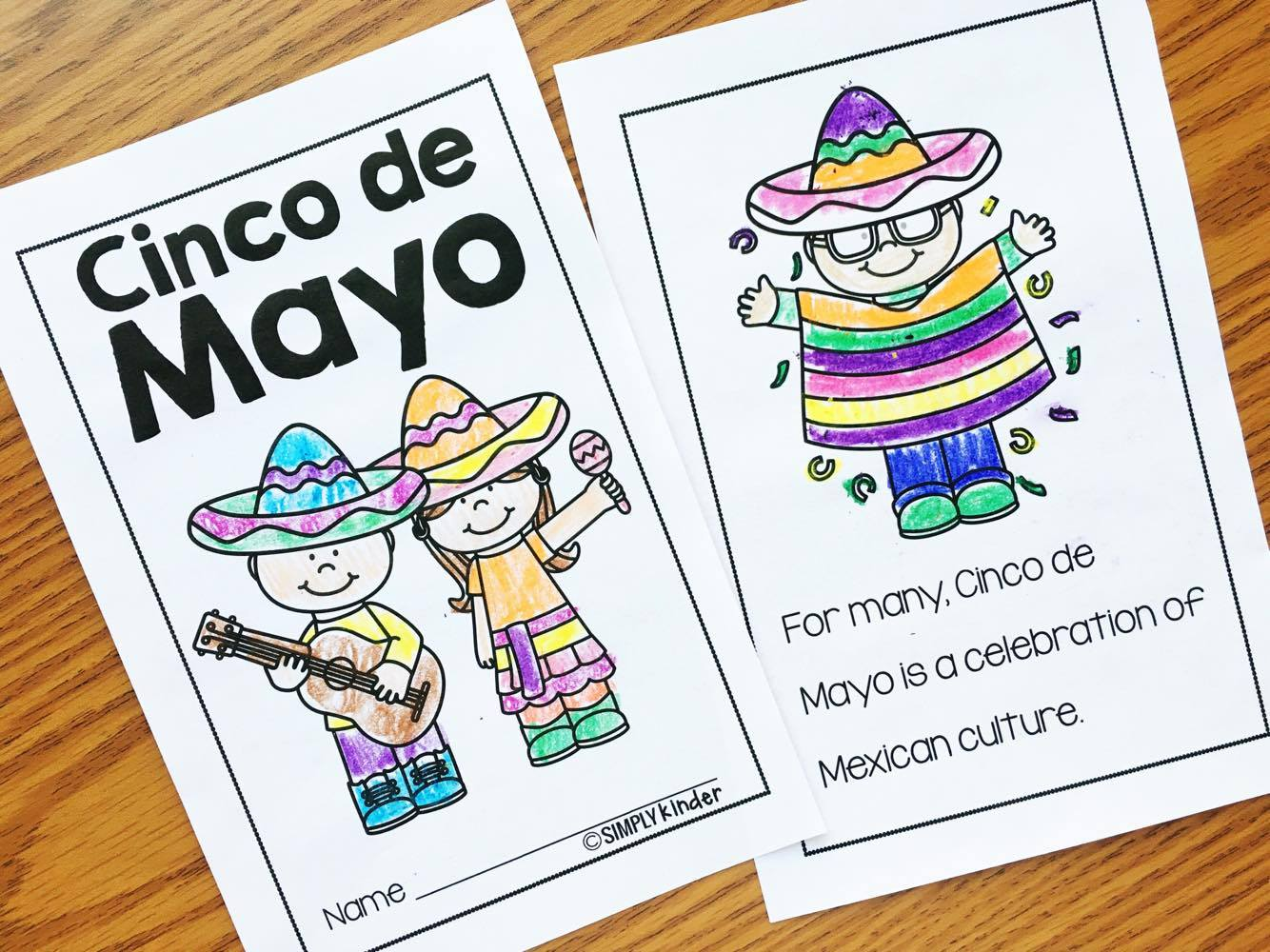 Cinco de Mayo Book for kids
