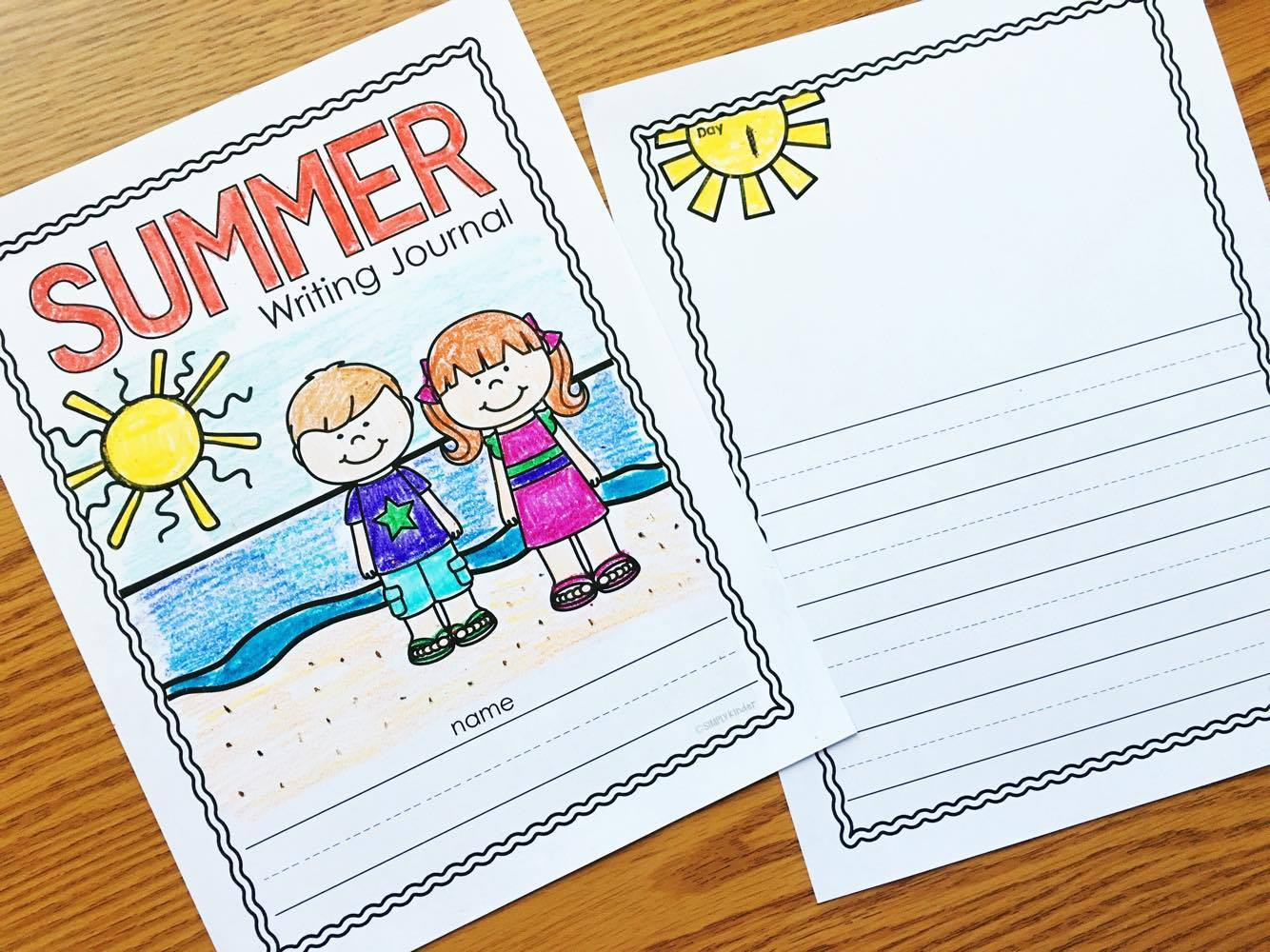Free Summer Journal