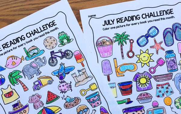 Free Summer Reading Logs