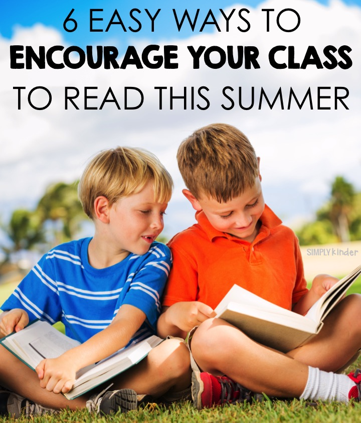 6 Ways to Encourage Your Students to Read over the Summer with Free Reading Logs