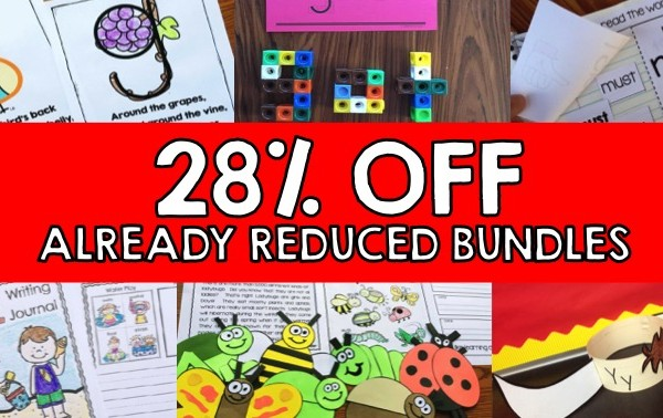 FLASH SALE – 28% Off BUNDLES