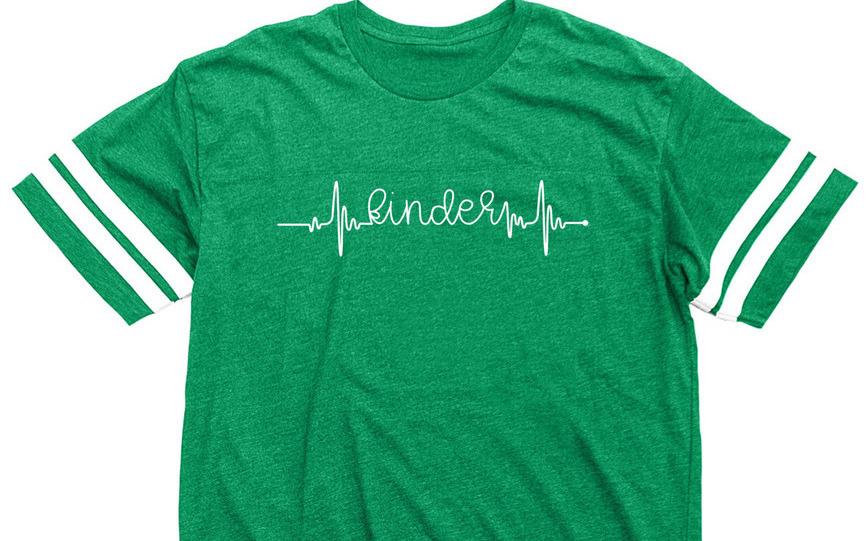 Kindergarten Lifeline Shirt. Show your love of kindergarten with this fun lifeline shirt from Simply Kinder.