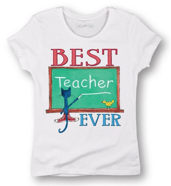 Pete the Cat teacher shirt - 10 Teacher Shirts Every Kindergarten Teacher Wants