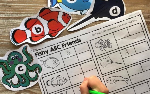Fish Friends Alphabet Game