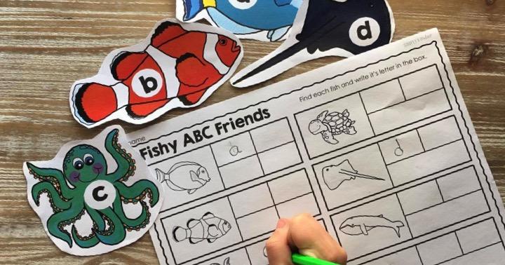 Fish Friends Alphabet Game