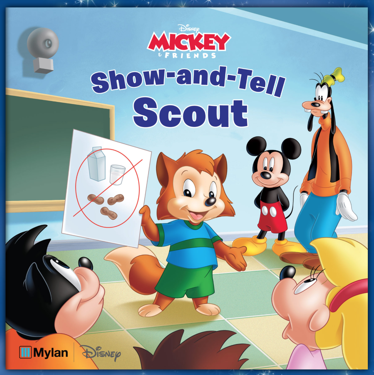Show and Tell Scout - A Story about severe food allergies in school.
