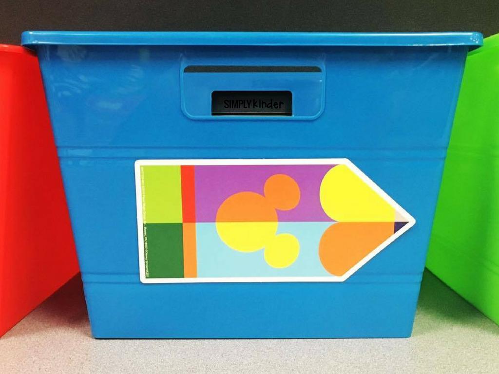 Mickey Classroom Decor: Geo Mickey Pencil Cutouts