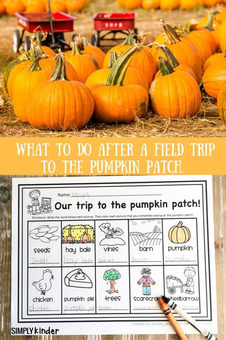 Pumpkin Patch Field Trip Free Printable