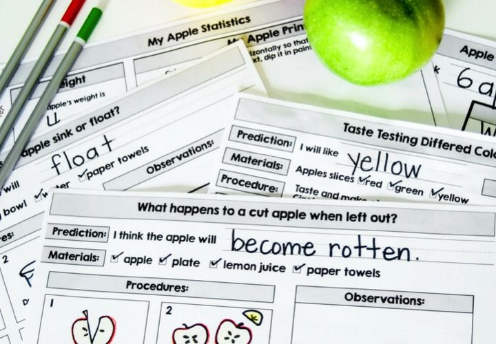 Apple Science and Stem Activities