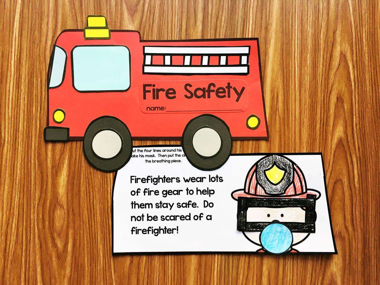 This Fire Safety Book for Kindergarten will go over all the essential concepts for fire safety.
