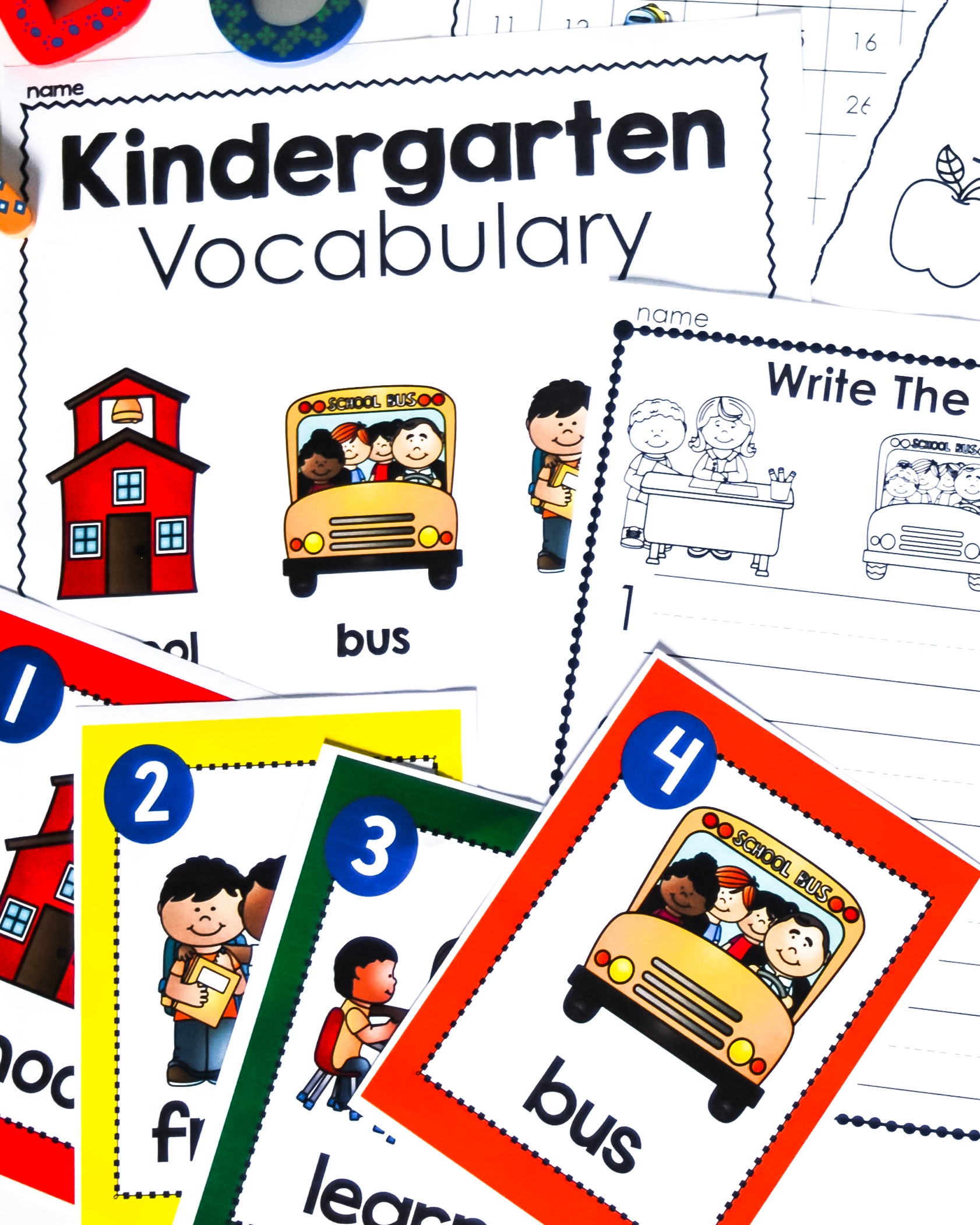 Kindergarten printables, centers, activities, games, and much more for your kindergarten class.