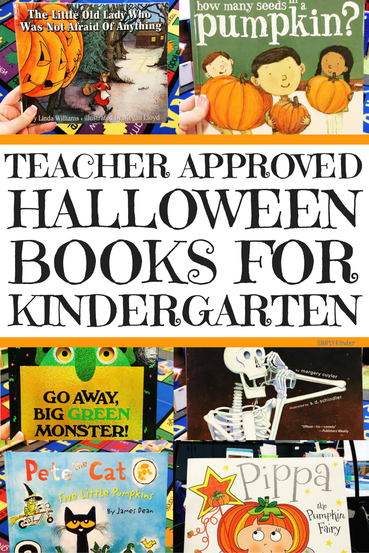 Teacher Approved Halloween Books for Kindergarten