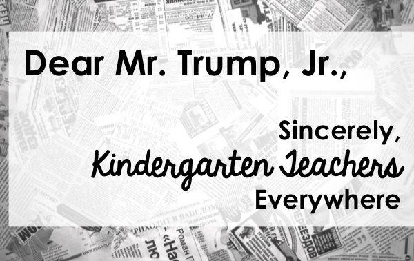 Dear Mr. Trump, Jr.