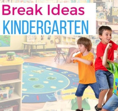 5 More Brain Breaks for Kinder