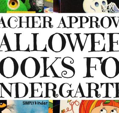 Halloween Books for Kinder