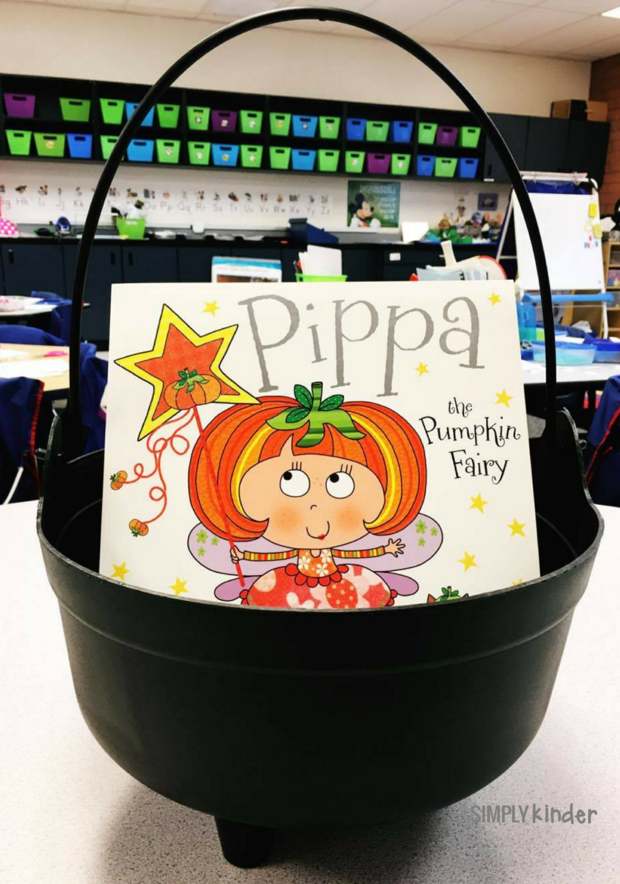 Pippa the Pumpkin Fairy  and other Halloween Books for Kinder