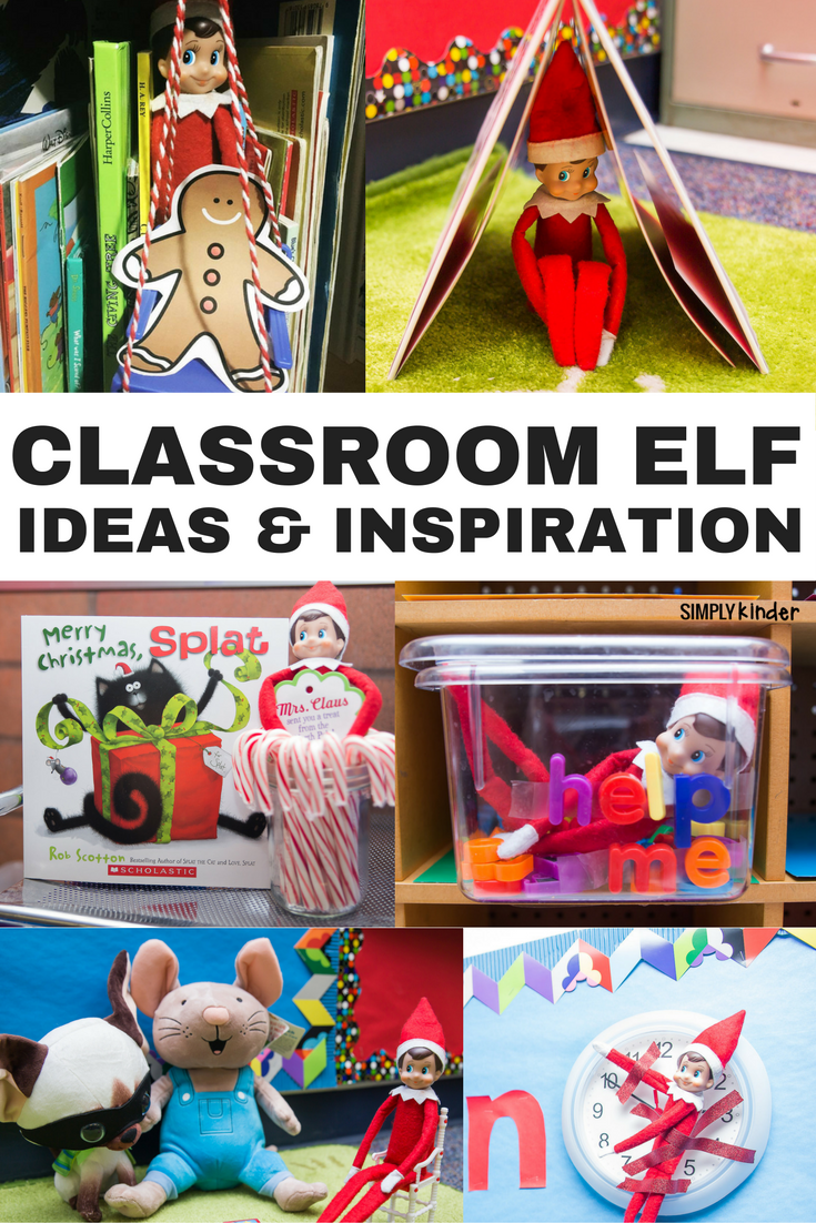 Teaching Ideas In The Classroom ~ Elf on the shelf classroom ideas simply kinder