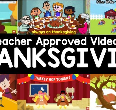 Teacher Approved Thanksgiving Videos