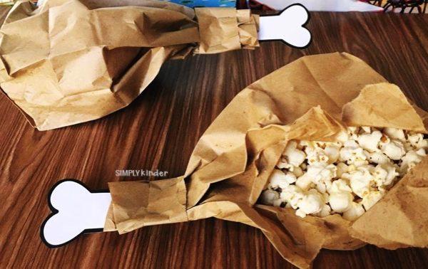Turkey Leg Popcorn Snack