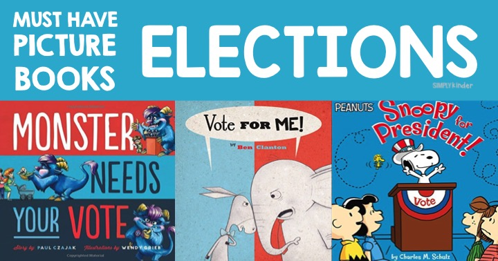 Election Books for Kindergarten