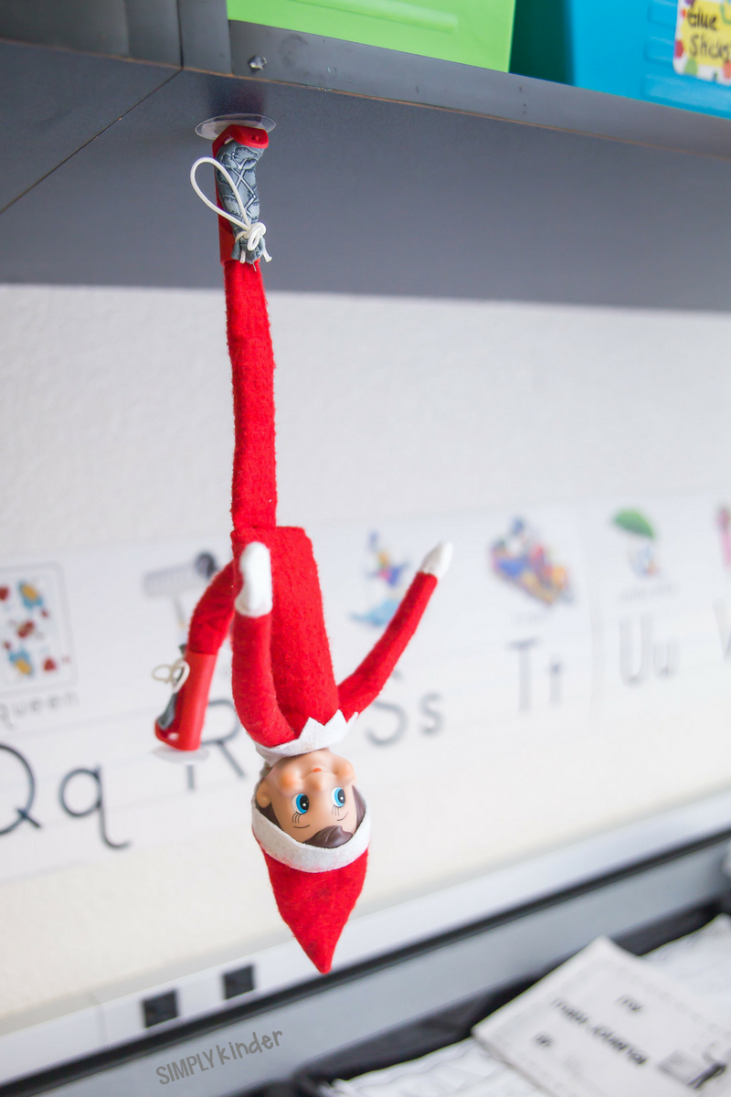 Elf On The Shelf Classroom Ideas Simply Kinder