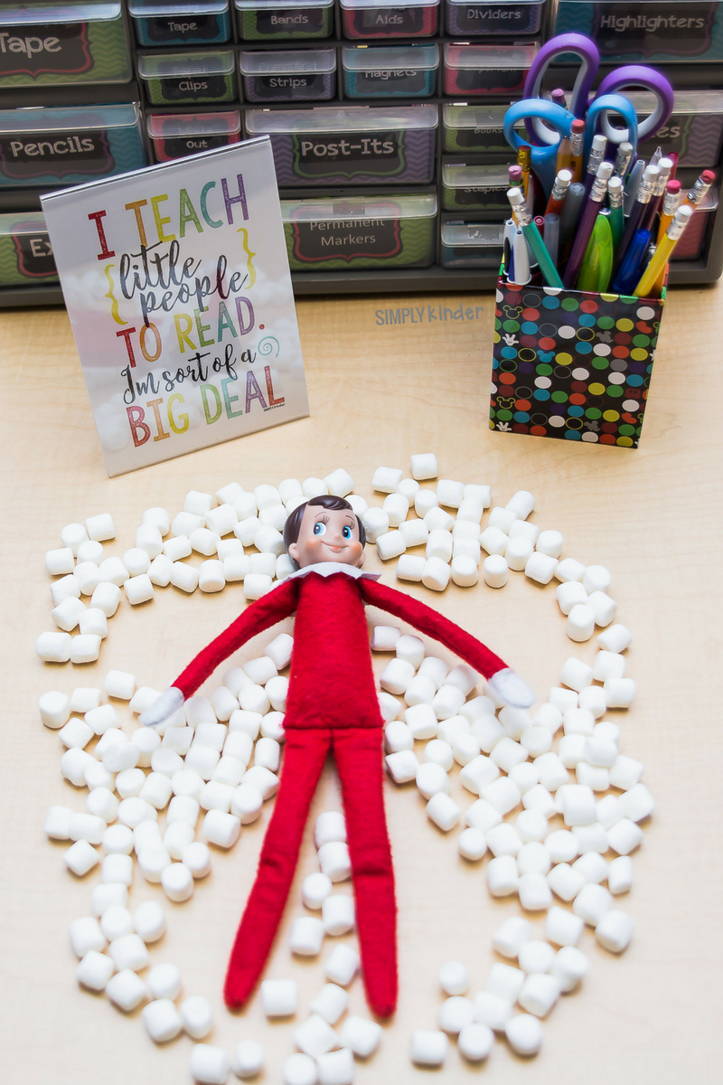 Classroom Elf Ideas ~ Elf on the shelf classroom ideas simply kinder