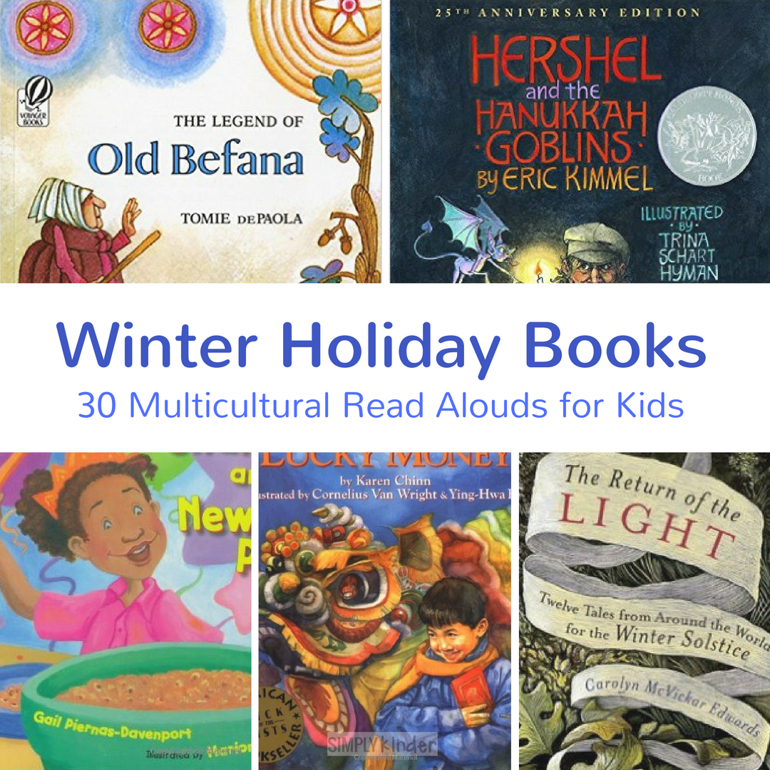 Christmas Around the World Books - Simply Kinder
