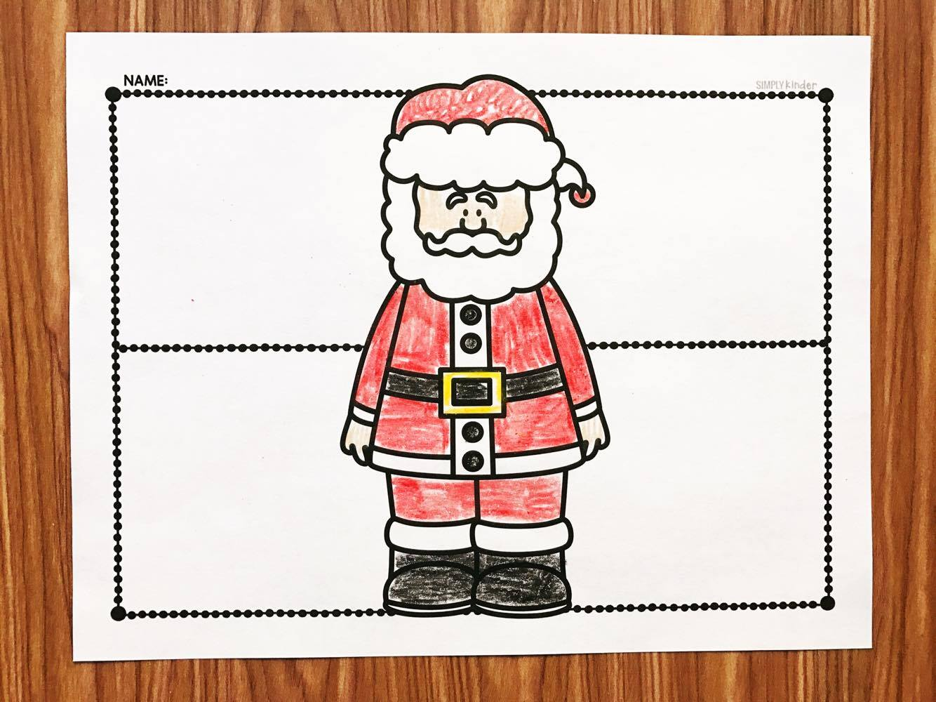 Free letter to Santa t