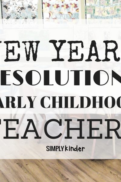 New Years Resolutions for Teachers