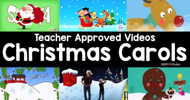 Teacher Approved Christmas Carols for Kids Video List