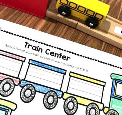 Sight Word Train Center