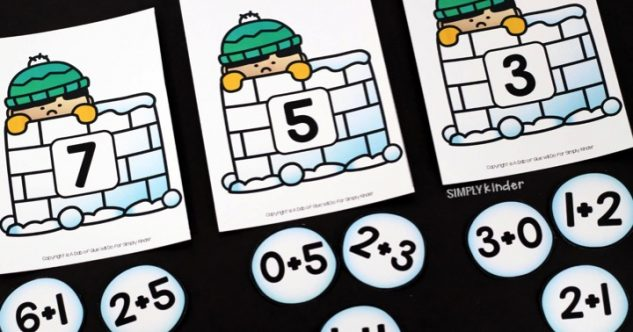 Snowball Addition Game