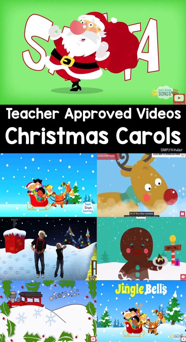 Teacher Approved Christmas Carols Video List