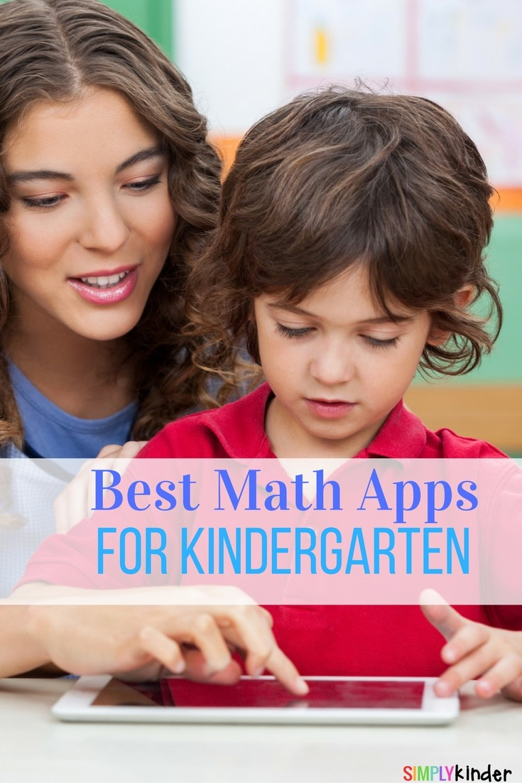 Best math apps for kindergarten
