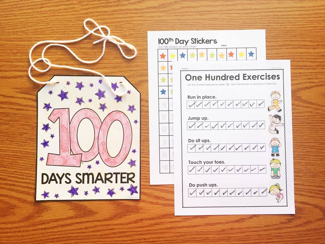 Hundredth Day Activities for Kindergarten