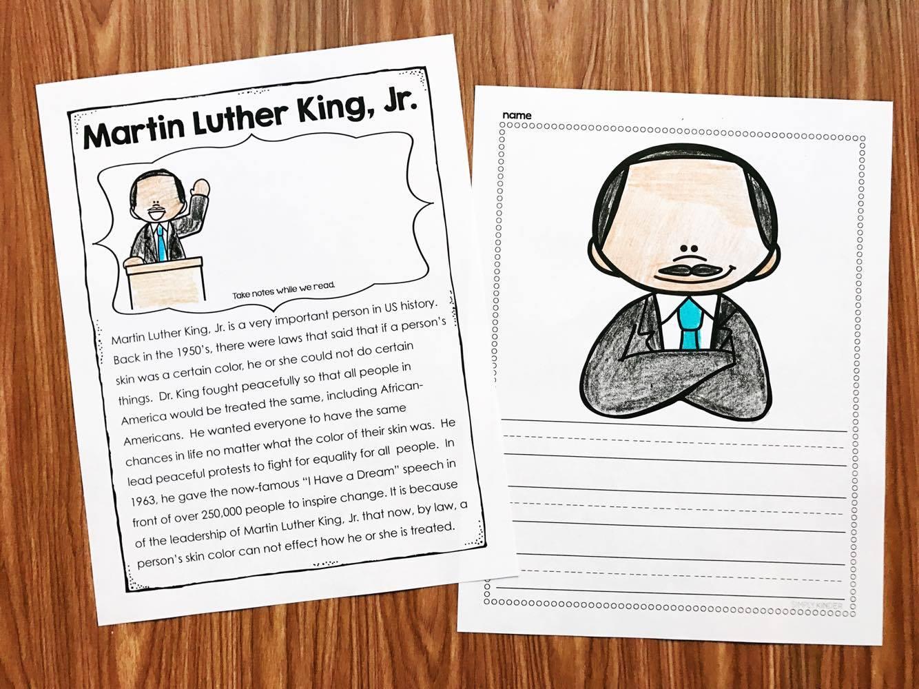 MLK Close Read