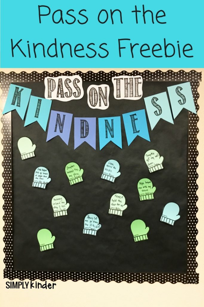Pass on the Kindness Freebie-
