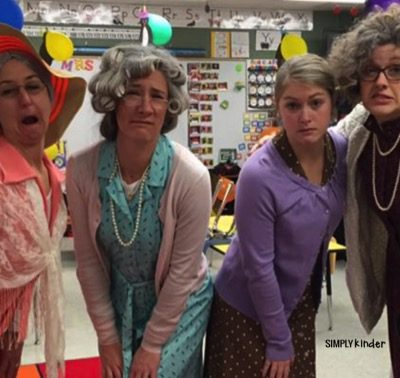 Dress Up for the 100th Day