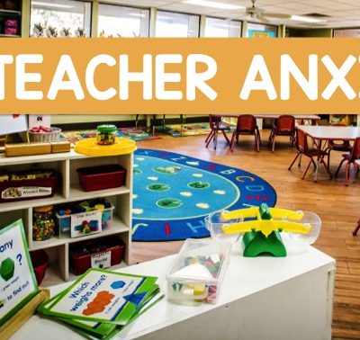 Working Through Teacher Anxiety