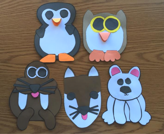 Arctic animals research unit with crafts. Students will love these adorable crafts and each animal has a close read, graphic organizers, and report page. Such great support, kindergarten and first grade students will be able to write amazing expository reports using this system.