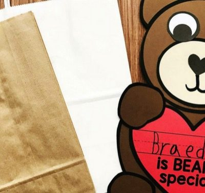 Beary Special Valentines Day Craft